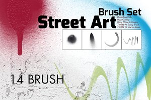 Street Art Brush Set