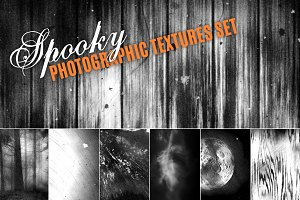 Spooky Photographic Textures Set