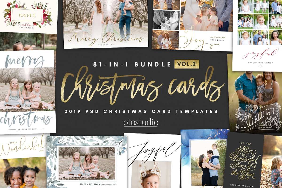 NEW 81-in-1 Christmas Cards Bundle