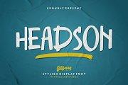 Headson - Display Font