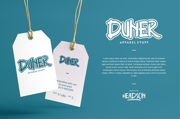Headson - Display Font in Display Fonts - product preview 5
