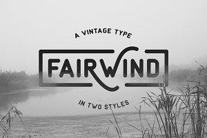 Fairwind Typeface
