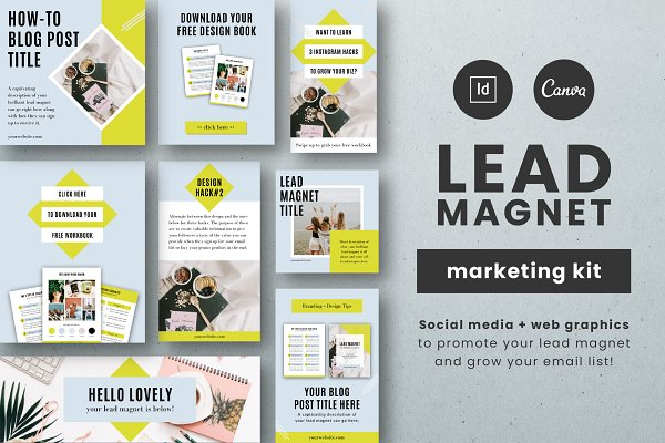 Lead Magnet Marketing Kit