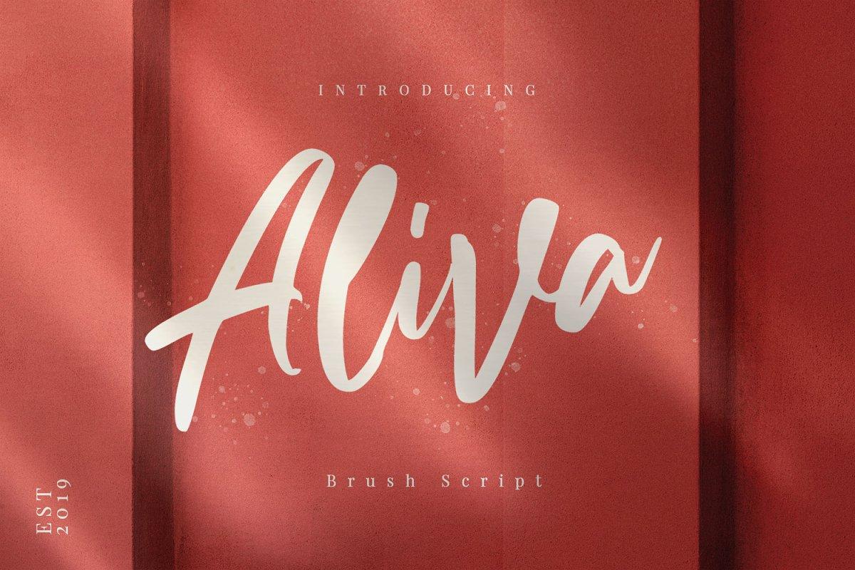 Aliva - Brush Script