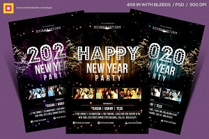 New Year Party Flyer V4