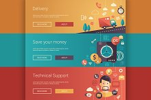 Business Infographics Banners 2