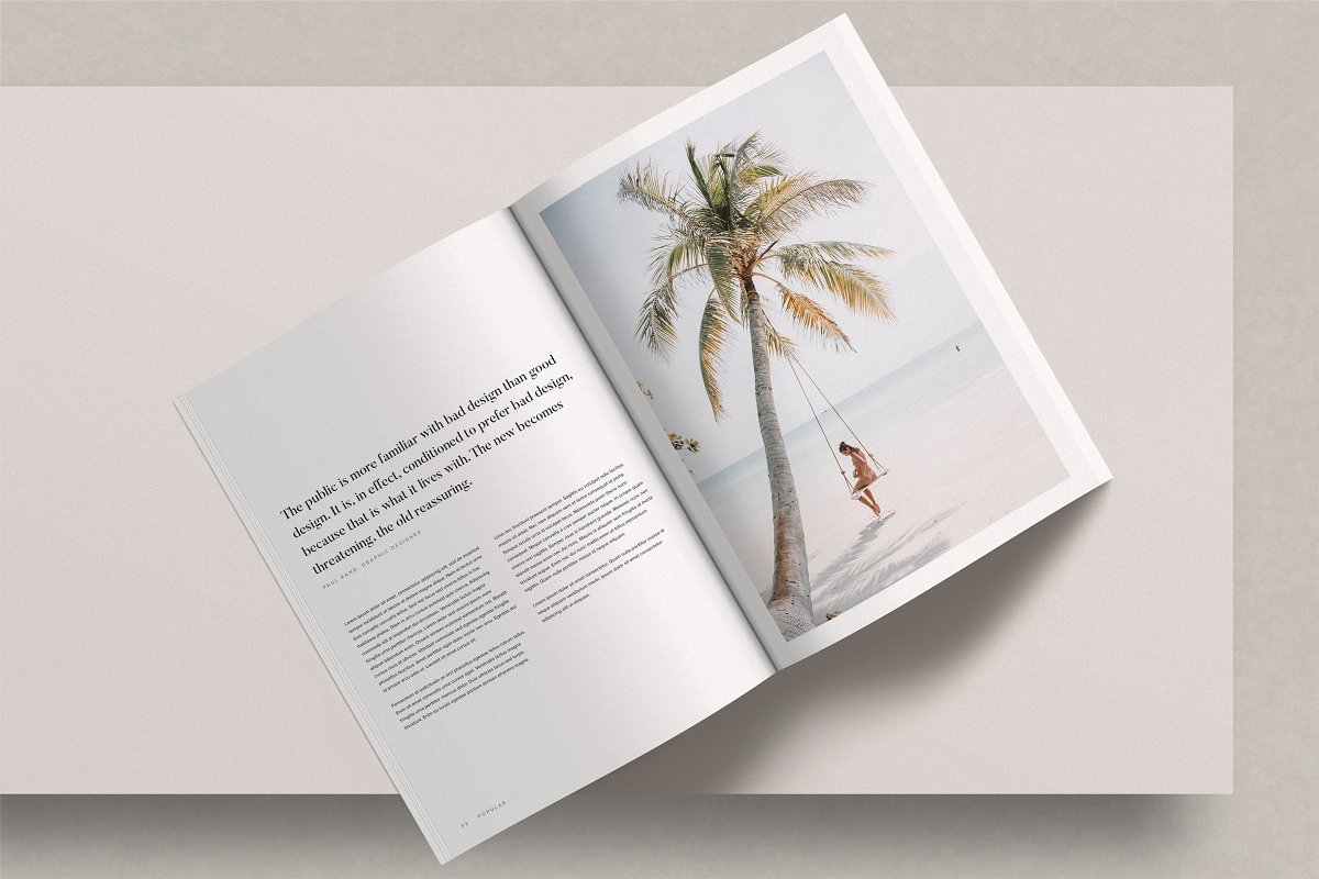 Magazine Mockup Kit in Magazine Templates - product preview 1
