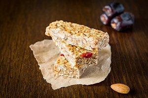 Granola bars, healthy snack