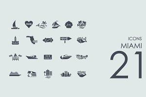 21 Miami icons