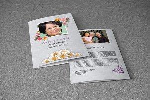 Funeral Program Template-V197