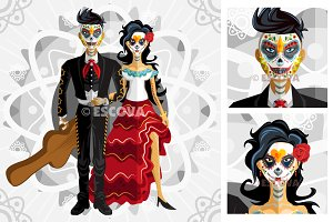 Dia De Los Muertos Day Of The Dead B