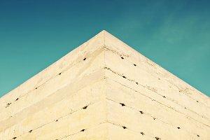 pyramidal facade