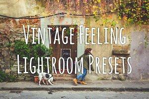 Vintage Feeling LR Presets