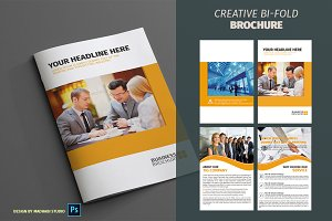 Corporate Bifold Brochure Vol 09