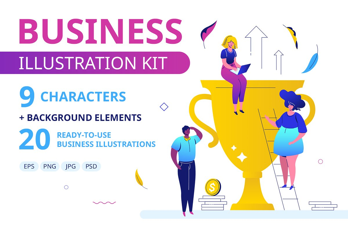 Business Illustration Kit