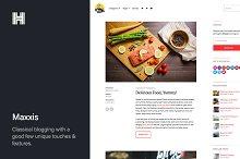 Maxxis - Blog WordPress Theme