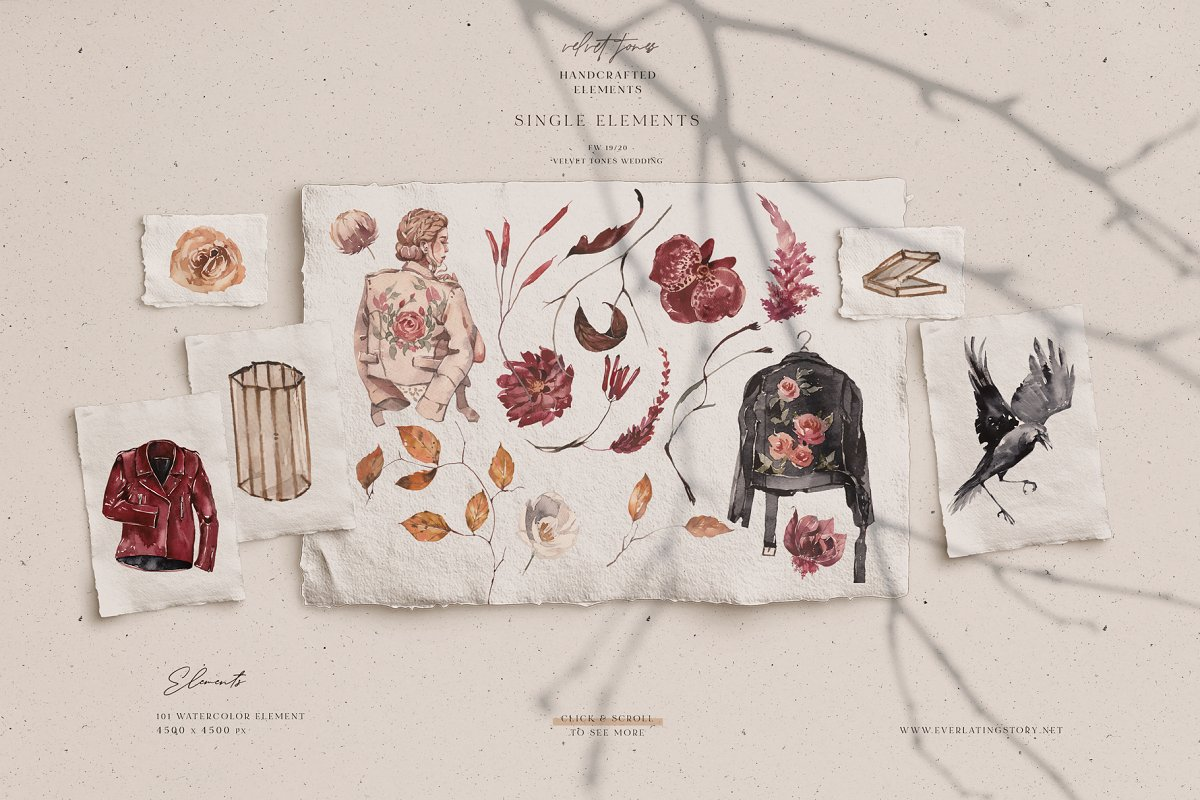 Dramatic Season Alphabet&Graphics in Illustrations - product preview 3