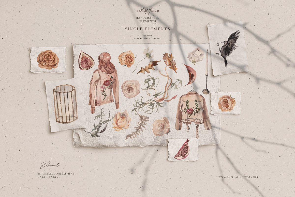 Dramatic Season Alphabet&Graphics in Illustrations - product preview 7