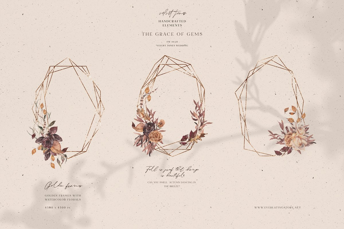 Dramatic Season Alphabet&Graphics in Illustrations - product preview 12