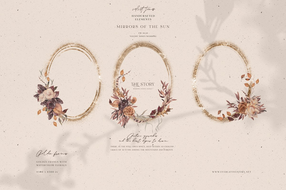 Dramatic Season Alphabet&Graphics in Illustrations - product preview 13