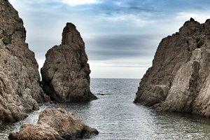 Majestic Rocks in the sea