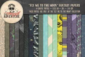 Fly Me To The Moon Fantasy Papers