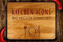 Kitchen Icons Big Set