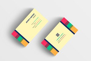Colorful Business Card 3