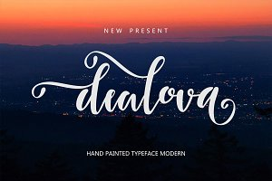 Dealova Script