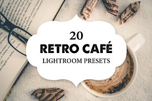 20 Retro Café Lightroom Presets