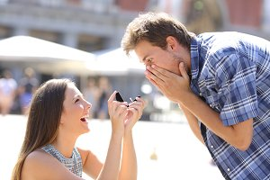 Proposal of a woman asking marry to a man.jpg