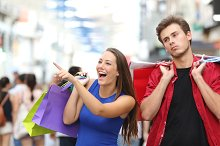 Man bored shopping with his girlfriend.jpg