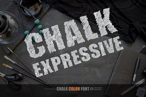 CHALK EXPRESSIVE! Letter Set