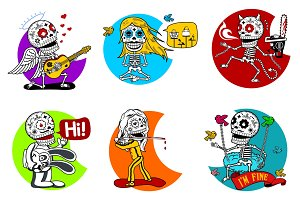 Skeletons Calaveras vol.1