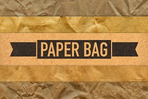 Paper Bag Texture - 5 Pack