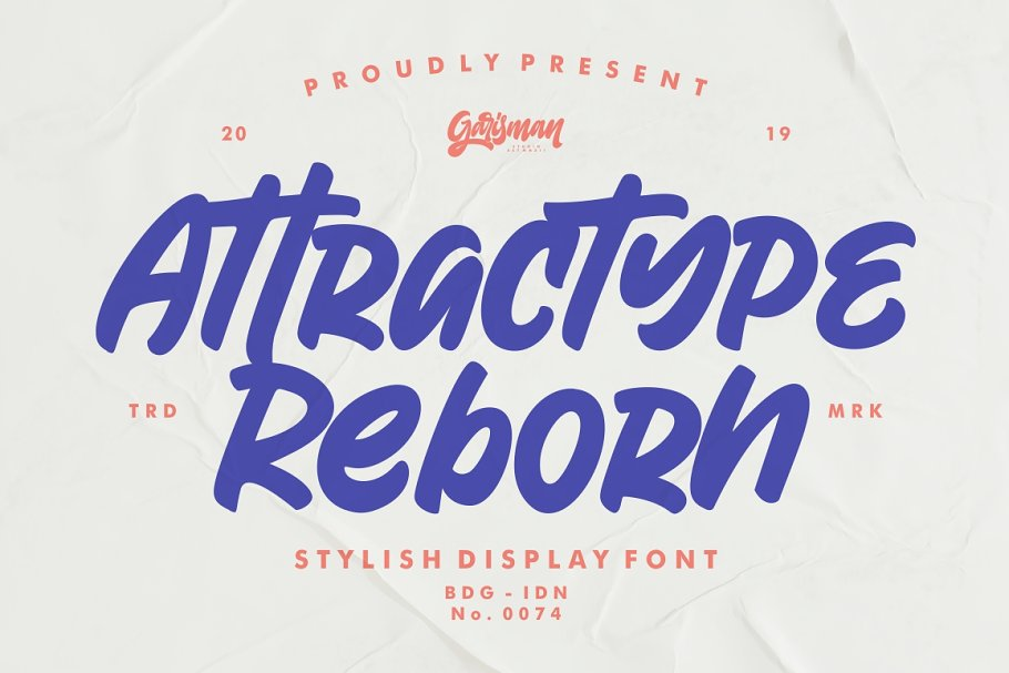 Attractype Reborn - Stylish Font