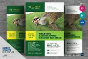 Garden and Lawn Care Flyer