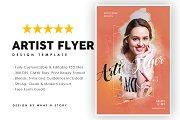 Artist flyer
