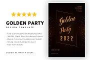 Golden party