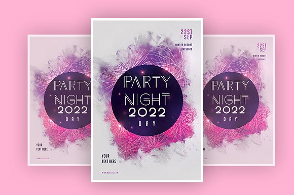 Party night in Flyer Templates - product preview 1