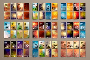 Big Pack of Geometrical Templates