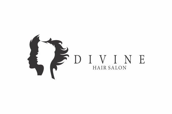 Hair salon logo logo templates creative market altavistaventures Images