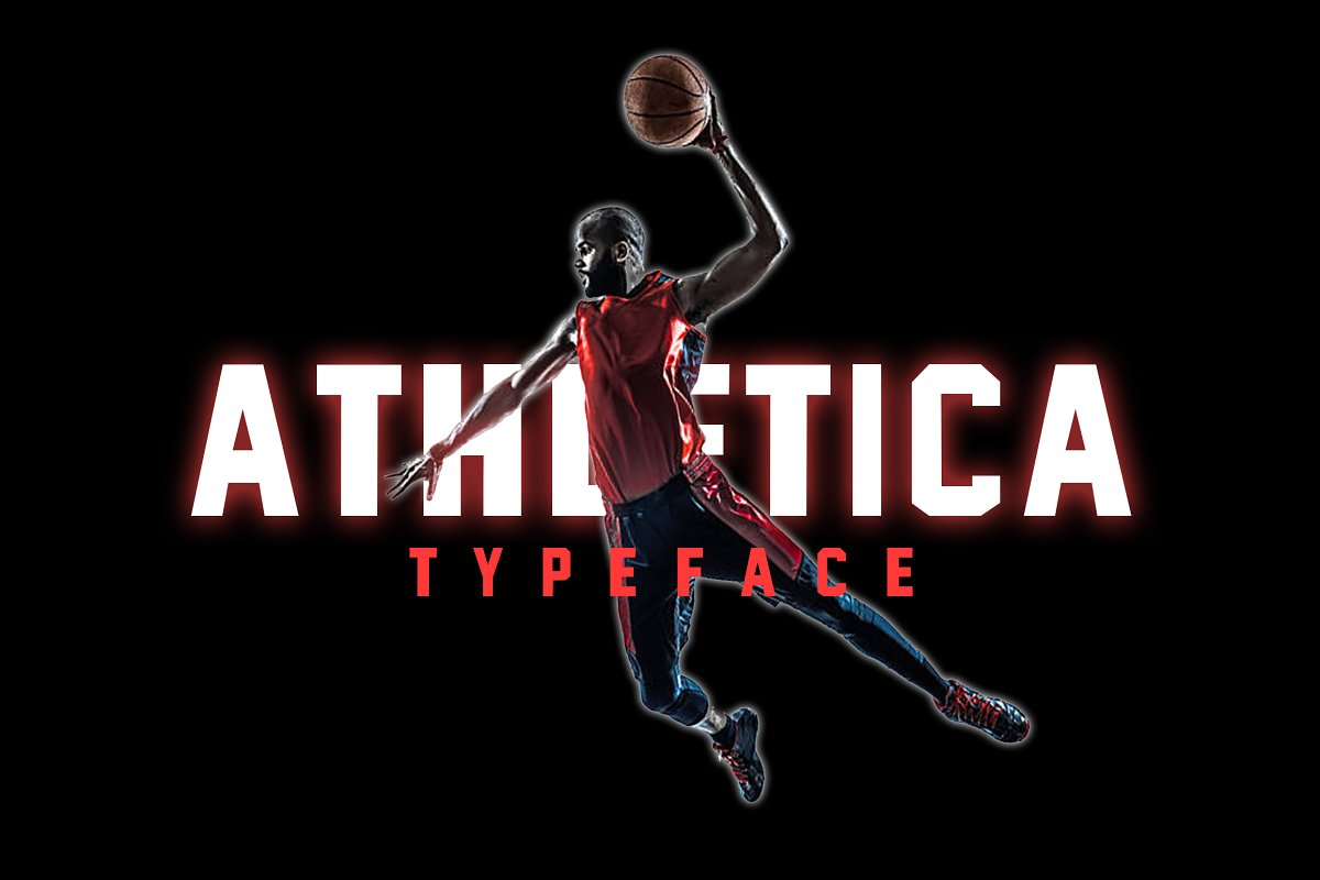 Athletica Sports Font in Display Fonts - product preview 8