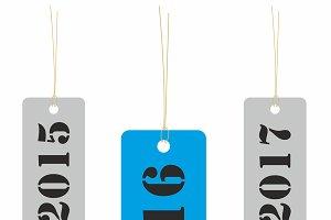 Year 2016 tag