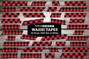Lumberjack Plaid Washi Tapes