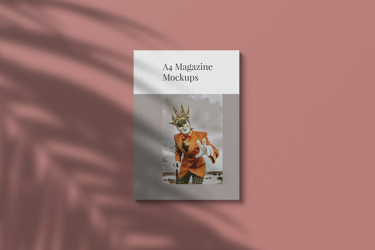 Magazine Mockup Kit in Templates - product preview 1