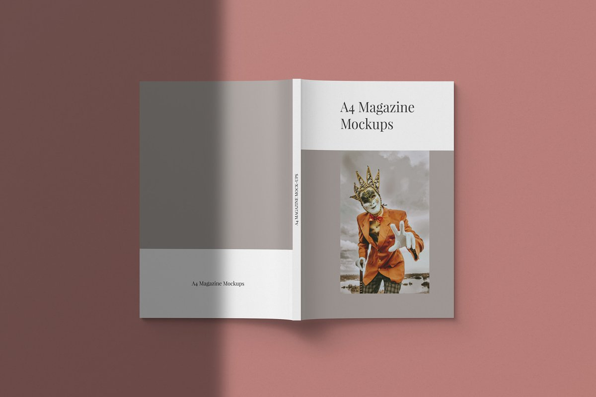 Magazine Mockup Kit in Templates - product preview 3