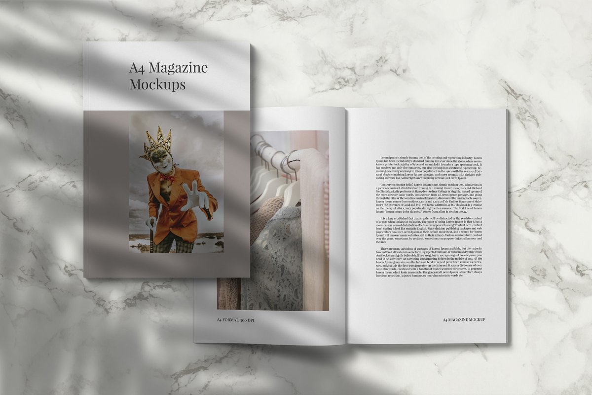Magazine Mockup Kit in Templates - product preview 5