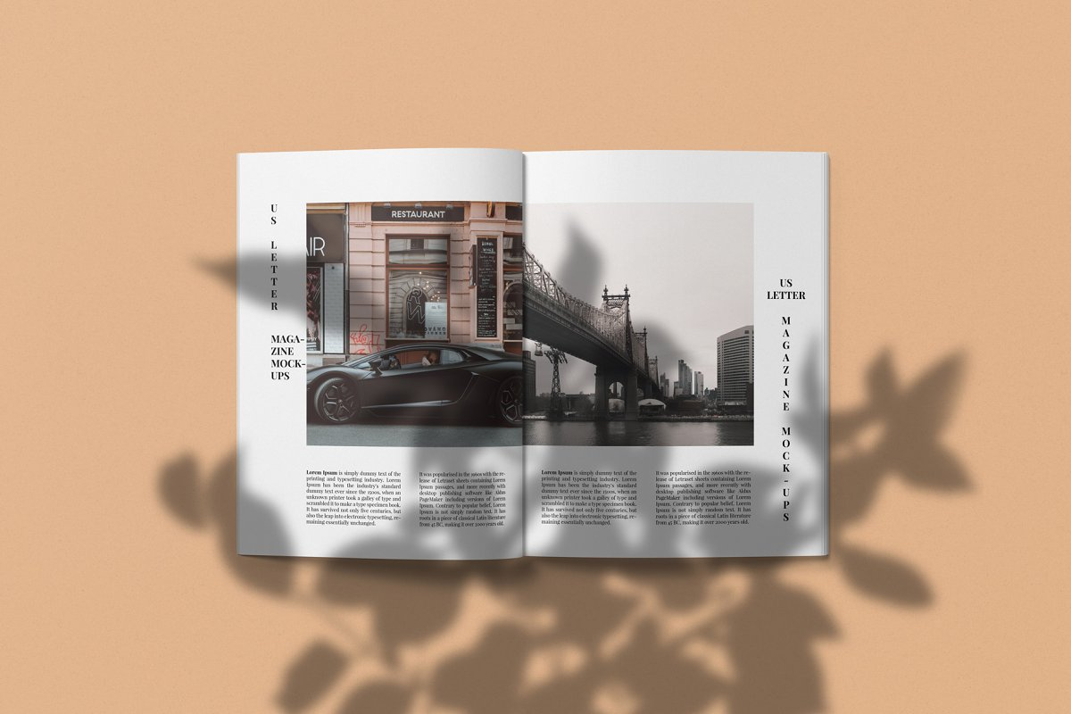 Magazine Mockup Kit in Templates - product preview 10