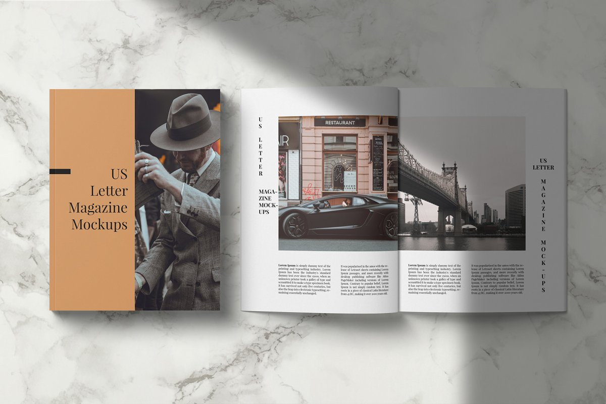 Magazine Mockup Kit in Templates - product preview 11